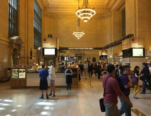 Tour of Italy in Grand Central Station New York