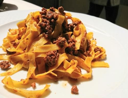 Tagliatelle (not spaghetti) is the preferred pasta in Bologna