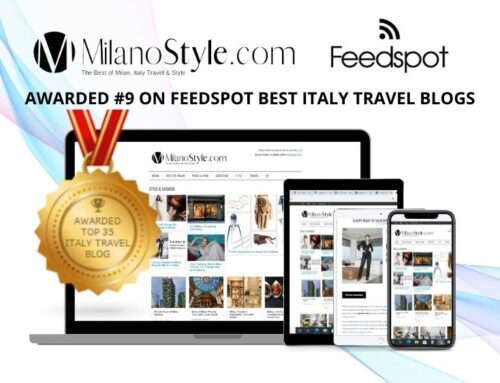 Milanostyle.com Awarded in Top 10 of Best Italy Travel Blogs