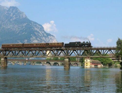 Lario Express, Vintage Electric & Steam Trains to Lake Como
